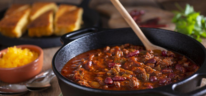 Chilli Con Carne in pot