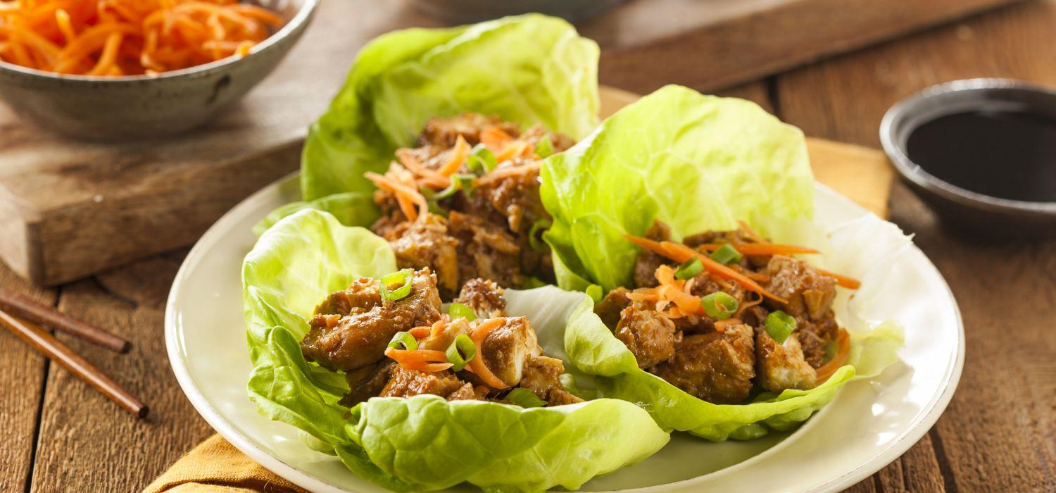 meat wrapped in cabbage on plate